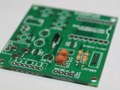 4- Solder 0.1uF capacitor