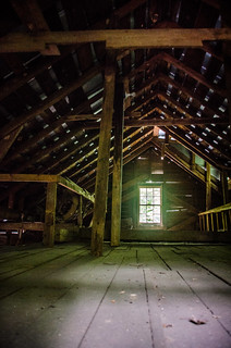 Gilreath Mill Attic