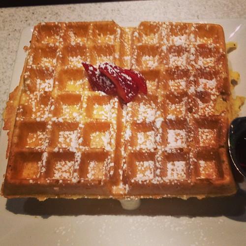 Strawberry Cheesecake  Waffles at TCO by @MySoDotCom