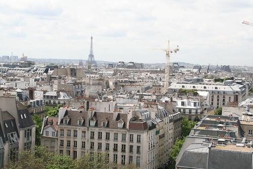 Tour Eiffel from Pompidou