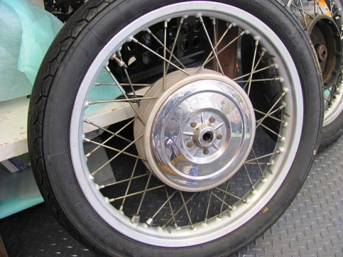 Bearing Cover Side, Front Wheel