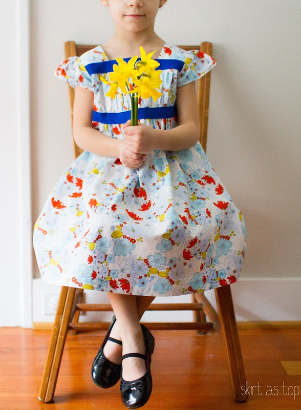 meadow garden party dress