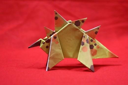 Origami Stegosaurus
