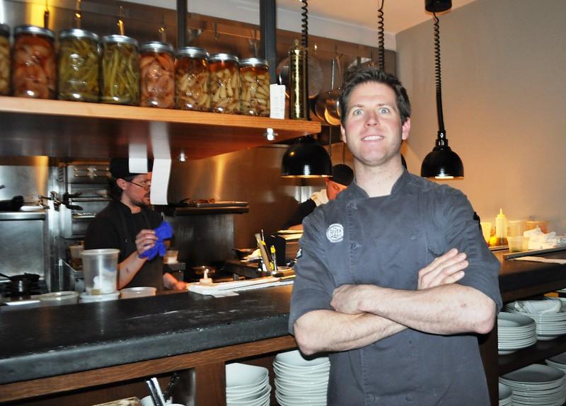 Chef Aaron Deal, The River and Rail Restaurant, Roanoke, Va., April 2014 #OldSchoolVA #LoveVA