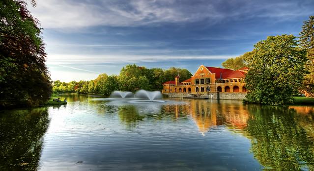 Washington Park Boathouse AlbanyNY  Flickr  Photo Sharing