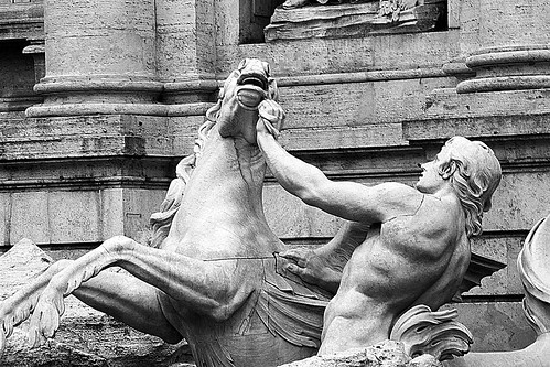 7 Taming the hippocamps (Trevi Fountain)