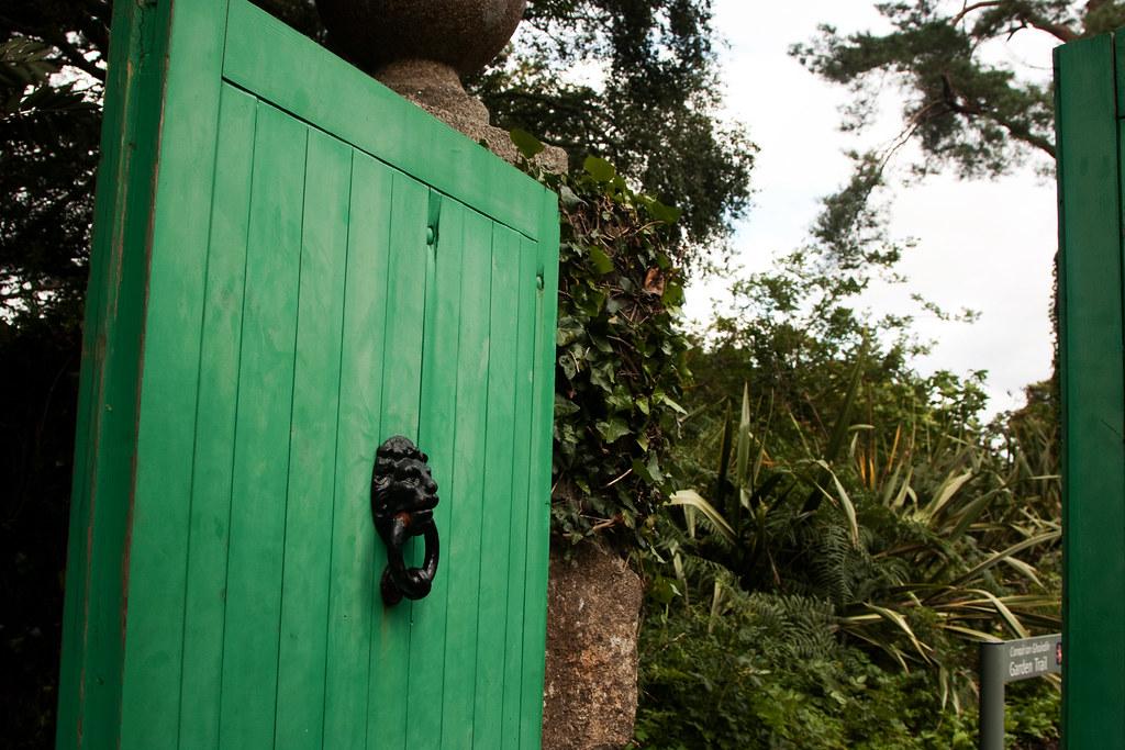 Glenveagh Castle Door