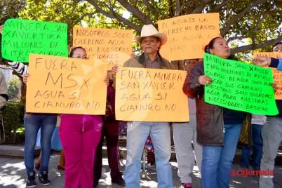 Habitantes de Cerro de San Pedro exigen el servicio de agua potable