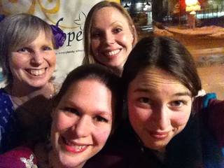 Hopewell EDAW closing event BWFF selfie