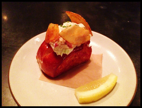 Lobster Roll, Celery, Lemon Aioli
