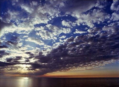 Lake Michigan clouds