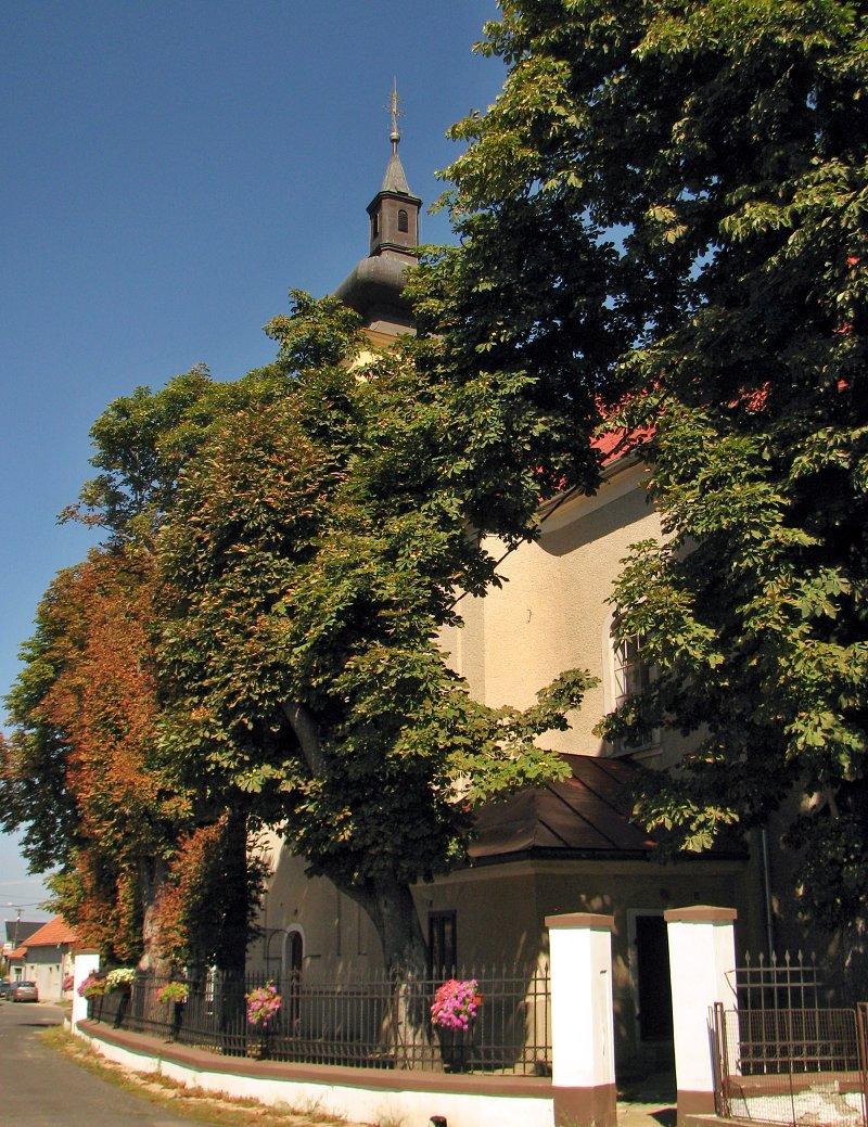 Kostol v Bušinciach dnes