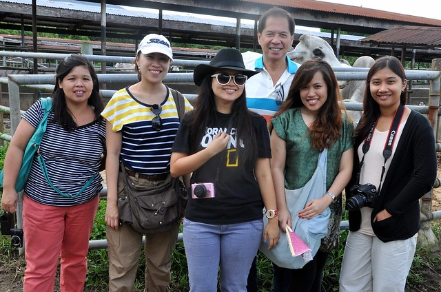 FoodPrints at a Batangas cattle farm