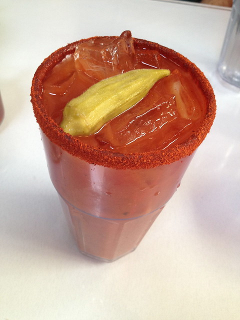 Creole Bloody Mary - Brenda's French Soul Food