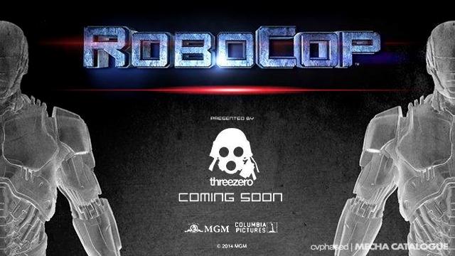 threezero Teases RoboCop 1.0 Figure
