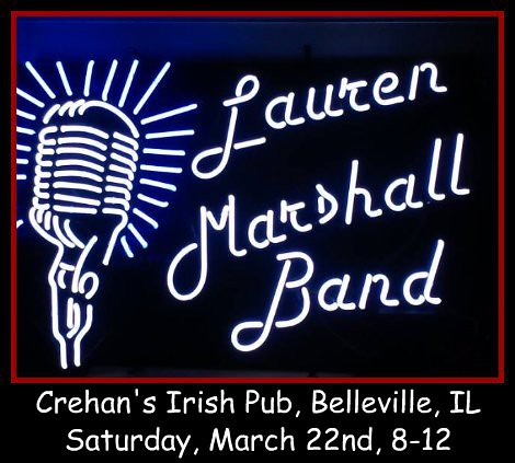Lauren Marshall Band 3-22-14