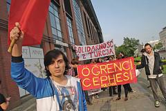 Support Turkey Standing for Democracy and Secularism, Wrocław, Poland / Solidarnościowa demonstracja z protestującymi w Turcji we Wrocławiu