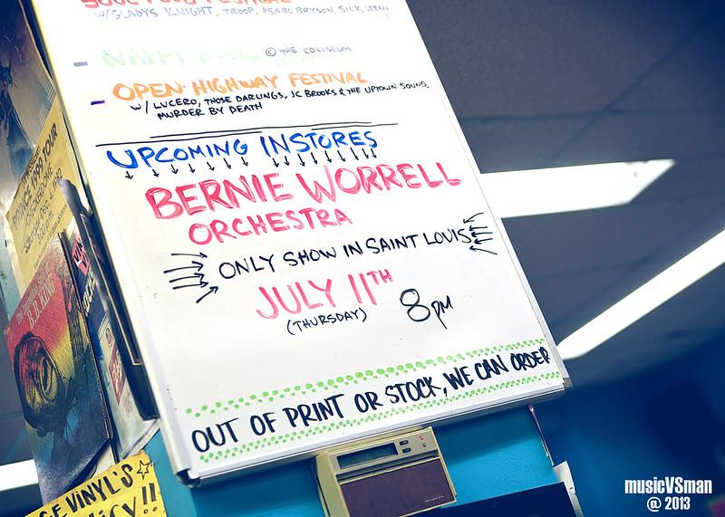Bernie Worrell @ Vintage Vinyl
