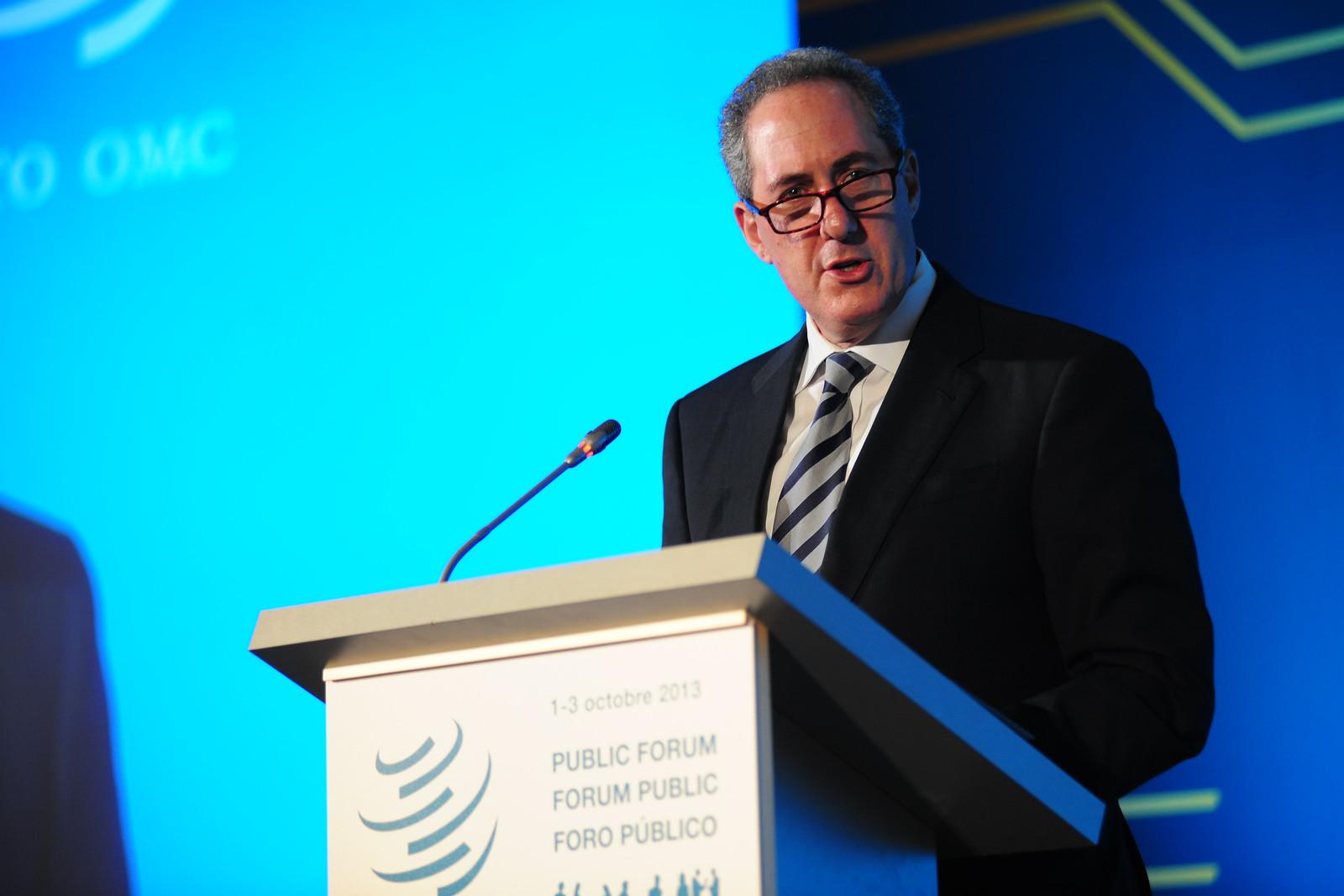 USAs handelsrepresentant Michael Froman. Foto: WTO