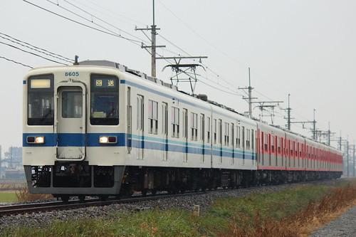 8505F+8111F @新郷〜武州荒木