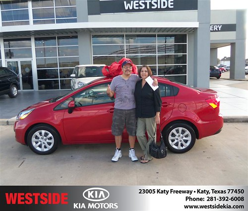 Happy Birthday to Maria Garza from Zachary Randall  and everyone at Westside Kia! #BDay by Westside KIA