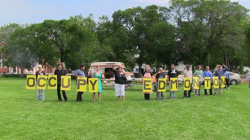 Occupy Edmonton Free BBQ III