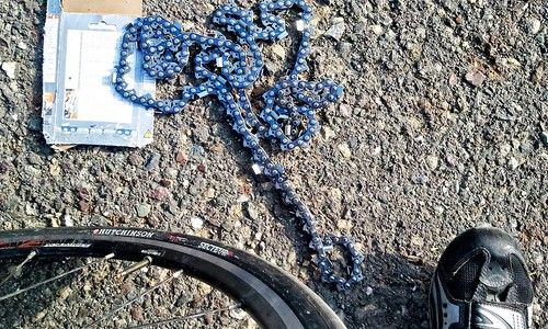 Roadside treasure: Chainsaw chain
