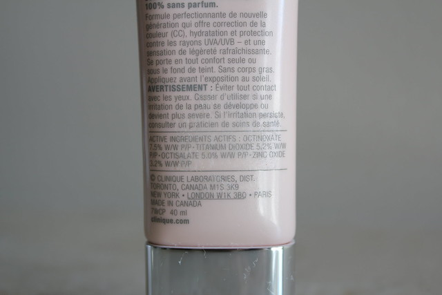 clinique cc cream review and swatches