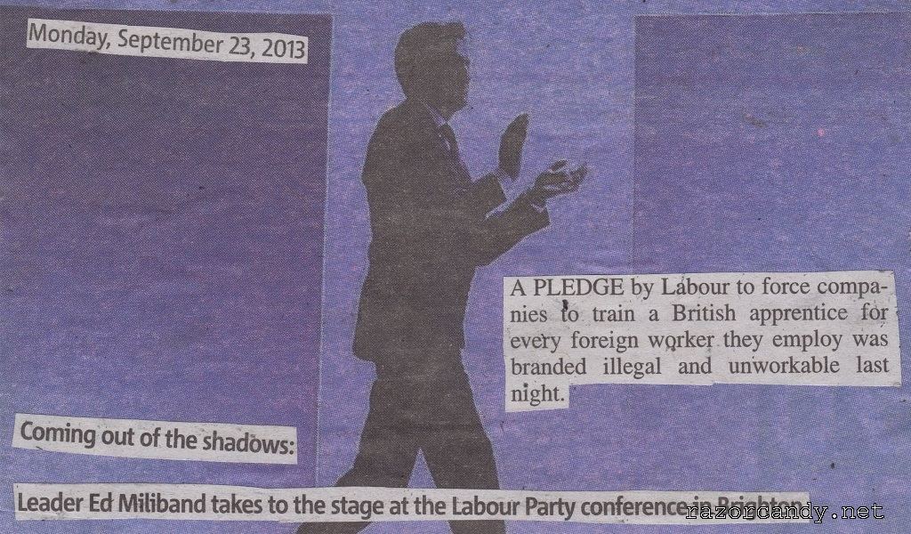 23-09-2013 Labour Ed Miliband back