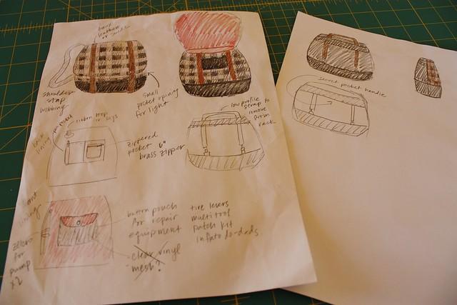Designing my Cooper bag