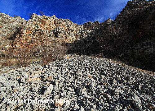 Slopes of the canyon