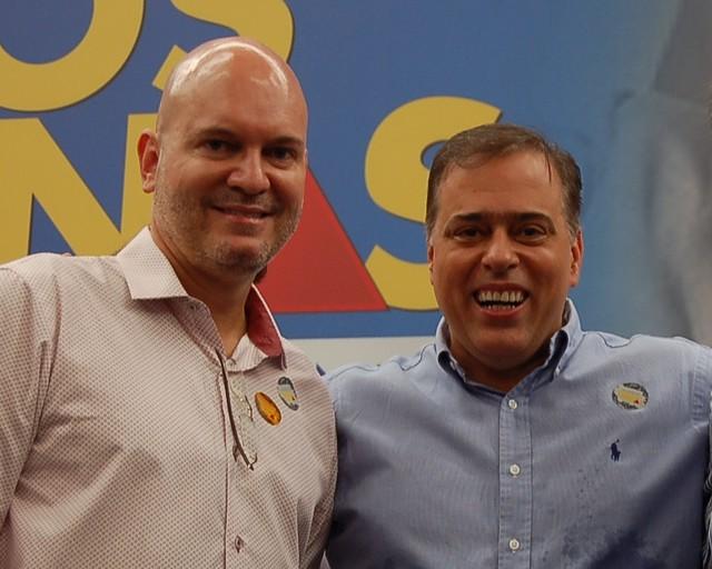 Toninho Andrada, pres AMM, DPAA e secretário da SEDRU, Bilac Pinto