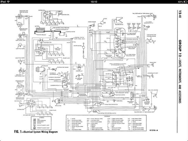 1951 plymouth cranbrook wiring diagram