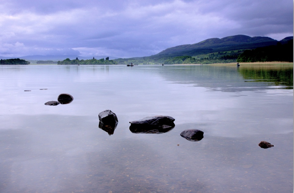 1. Lago de Menteith. Autor, Nicolas Valentin