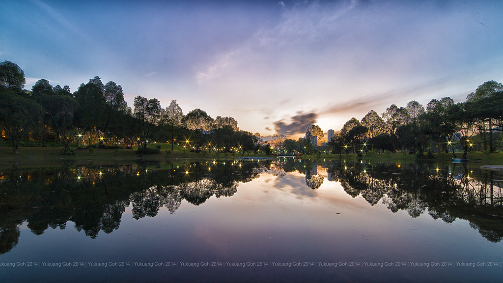 CNY Eve Sunrise @ Bishan Park
