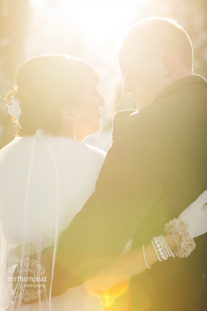 Winter Wedding Sunflare Prince George British Columbia