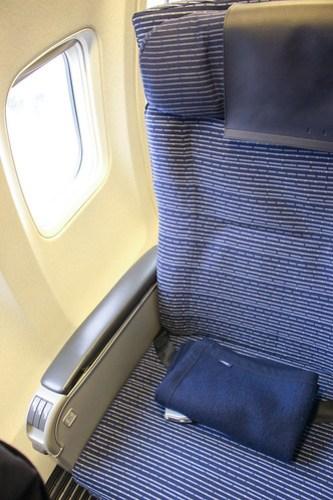 座席は1K