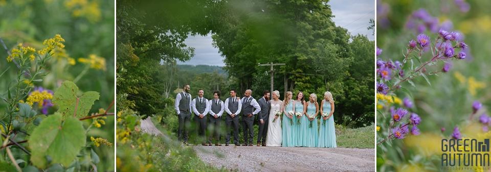 Autumn South Pond Farms Wedding Photography 0056