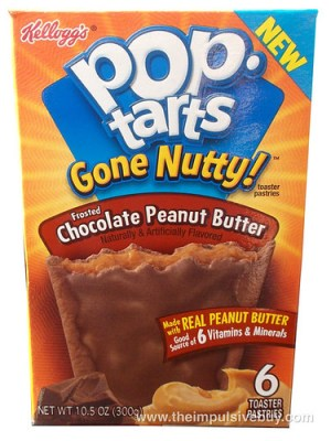 Review Pop Tarts Gone Nutty Frosted Chocolate Peanut