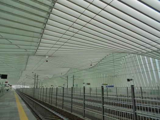 La stazione di Calatrava a Reggio Emilia