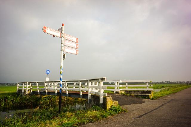 Dutch cycle signage