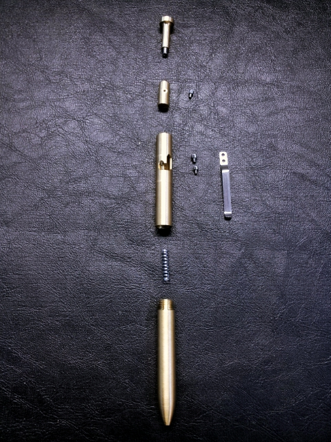 Exploded View of the Bolt in Brass