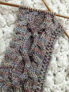 Scarf/Wrap In Progress