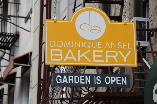 Dominiqe Ansel Bakery