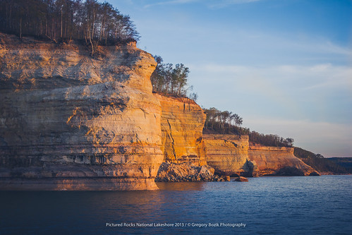 Pictured Rocks National Lakeshore - May 2013