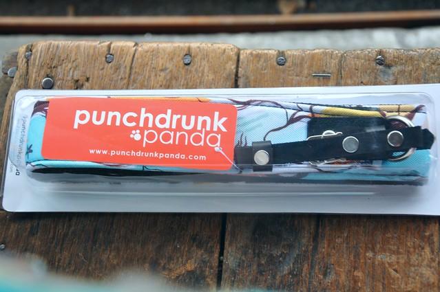 Punchdrunch Panda Seahorse Sun Daza Camera Strap