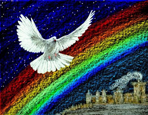 Spiritual Dove Clip Art