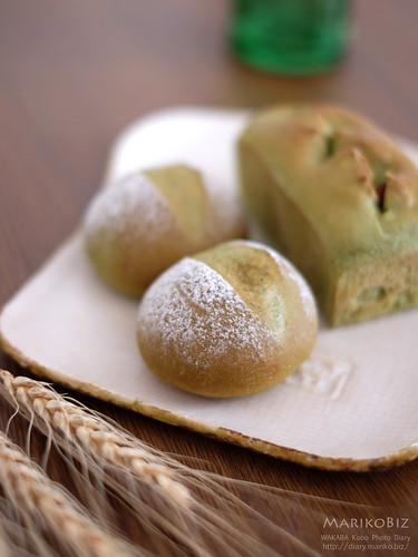 抹茶のパン 20160524-DSCF8957