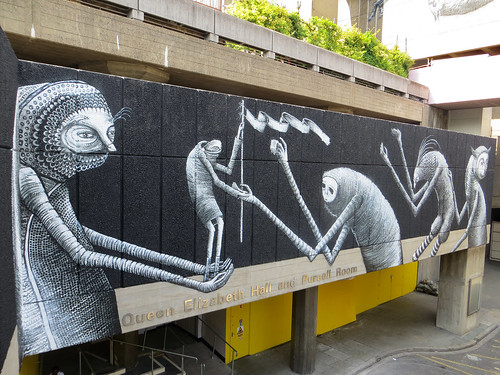 Phlegm, South Bank - June 2013