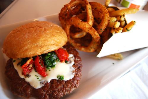 Burger lounge burger